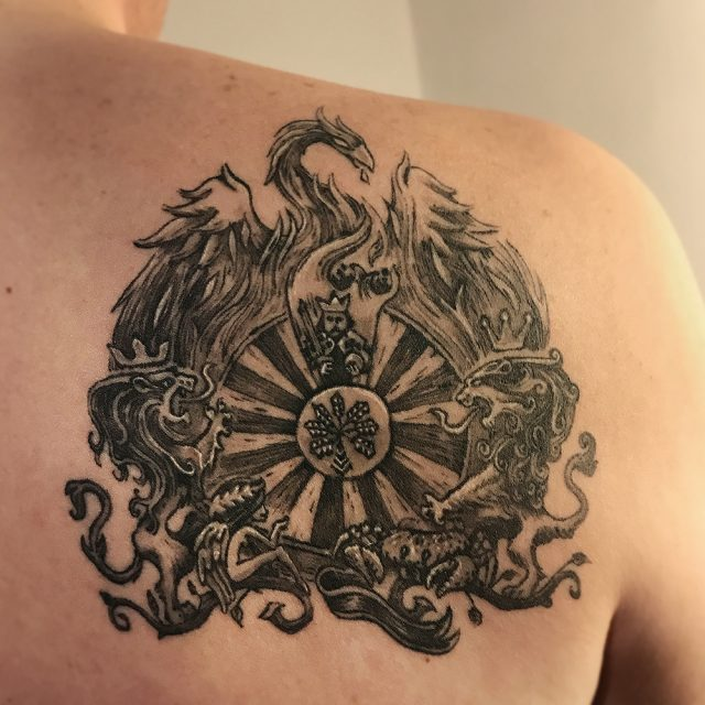 King's Crest Inked